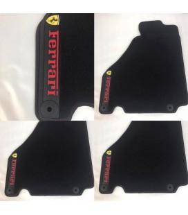 Ferrari F430 alfombrillas especificas negras
